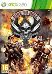 Ride to Hell: Retribution Xbox 360 (New) Game Online