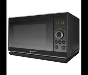Hotpoint 20L Solo Microwave Black £39.50 @ Tesco Direct