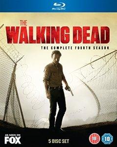 The Walking Dead - Season 4 Blu-Ray £22 @ Amazon