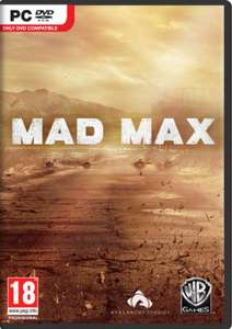 Mad Max PC DVD Pre Order £22.00 @ Tesco Direct (EDIT: Cheaper at Argos £19.99)