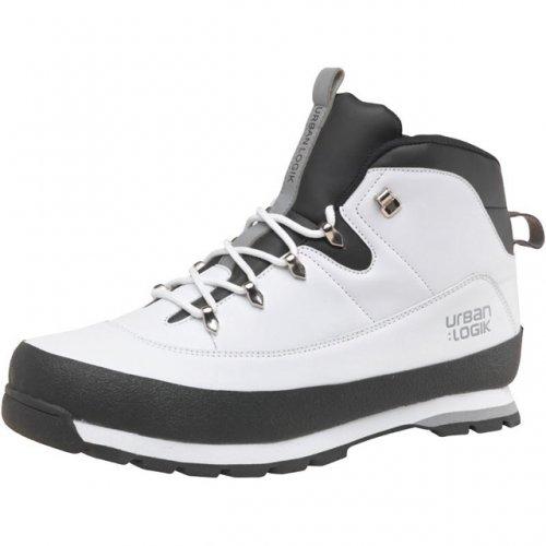 Urban Logik Mens Derwent Boots White/Black