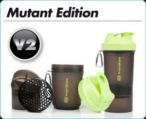 Smartshake Drinks Bottle with 2 Storage Compartments £5.55 @ Rakuten.co.uk!!