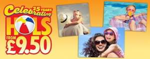 The Sun £9.50 Holidays - Febuary promotion starts 21/2/15