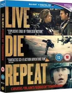 Edge of Tomorrow Blu Ray (without £5 off code) - £9.99 @ Rakuten Sold by the The Entertainment Store