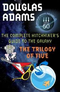 Complete Hitchhikers Guide to the Galaxy (trilogy of five) on Kindle £2.89 @ Amazon