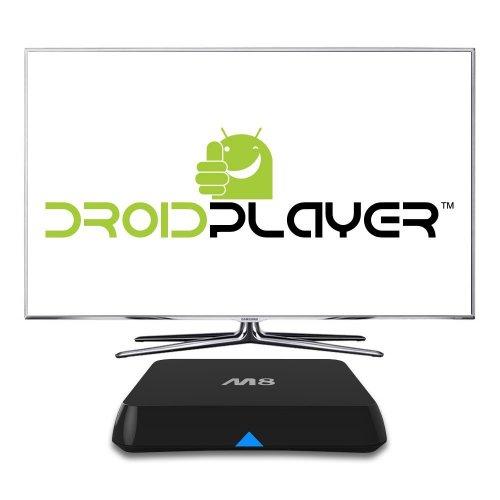 DroidPlayer M8 Quad Core Android (Kit Kat 4.4) TV Box Streaming Media Player - £59.99 @ Amazon (Lightning Deal)