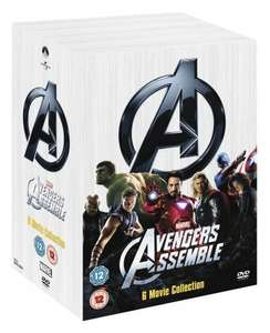 Marvel's The Avengers - 6-Disc Box Set DVD - Rakuten (Link Entertainment) £21.24 using 25% off code and free £5 pounds worth of points if a registerd member (possible 3.5% Quidco or 3.67% Topcash cashback)