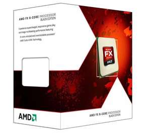 AMD FX6300 Black Edition 6 Core (3.5/4.1GHz, 8MB Level 3 Cache, 6MB Level 2 Cache, Socket AM3+, 95W, Retail Boxed) @ amazon
