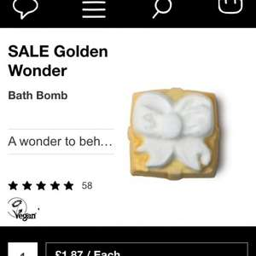 Lush half price sale!