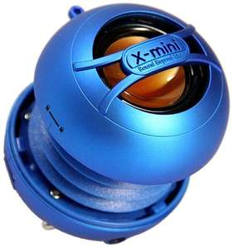 XMI X-Mini Uno Portable Mini Speaker for iPhone/iPad/iPod/MP3 Player/Laptop - Blue £9.99 at Amazon