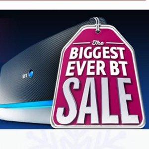 BT's Sale - Broadband from £4.75 per month. 10GB Broadband  +BTsports+Advance Line Rental+W/E calls=£233.85-£75 voucher = £158.85 /yr = £13.24 /month -