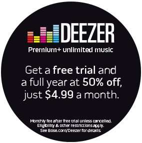 30 day trial of Deezer Premium+ then £4.99 per month after for 12 months.