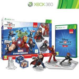 Disney Infinity 2.0 Marvel Superheroes Starter Pack £32 @ Amazon