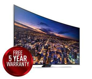 "SAMSUNG UE55HU8500 Smart 3D 4k Ultra HD 55"" Curved TV £1899 with 5 year warranty @ Hughes"