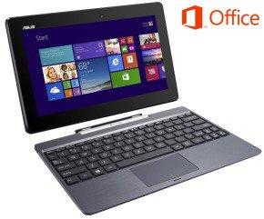 Asus T100TA z3740 32GB SSD with Microsoft Office 365, Case Bundle £249.99 @ EBuyer
