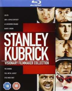 Stanley Kubrick: Visionary Filmmaker Collection Blu Ray - 7 Incredible films £19.80 @ Amazon
