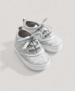 Mamas and papas girls glitter trainers £9.15 Delivered @ Mamas & Papas