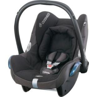 Maxi-Cosi CabrioFix Car Seat - Black Reflection. £67.99 @ Argos