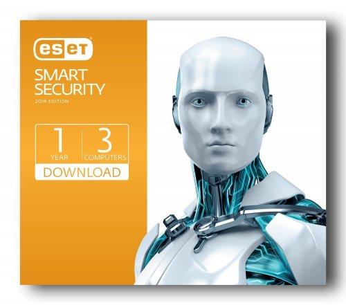Eset Smart Security 2014 3 User PC Download £9.99 (AMAZON)