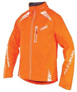 Altura night vision waterproof hi-viz jacket@ Tredz.co.uk £34.99(with sign up discount of £5) all colours and sizes.
