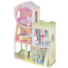 Sparkle Girlz Wooden Dolls House - £100 reduced to £15 instore @ asda