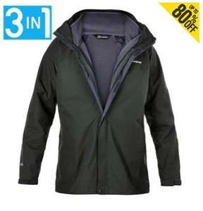 Berghaus RG long coat £54 delivered from Sports Direct