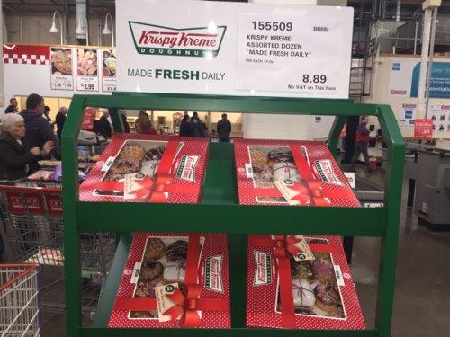 Krispy Kreme Doughnuts The Assorted Dozen £8.89 @ Costco