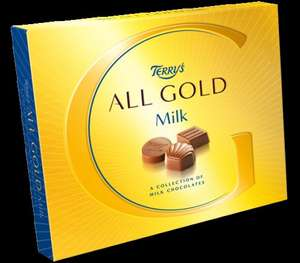 Terry's All Gold 190g Boxed Chocolates Milk 98p @ Morrisons in store