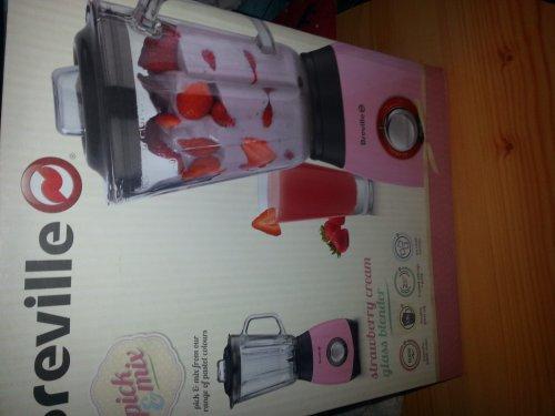 breville strawberry cream glass blender £9.99 instore at tesco
