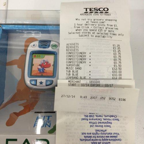 Leapfrog Leapband all colours £12 ***Instore*** Tesco