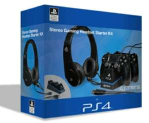 4gamers - stereo gaming headset starter kit - PS4 £18.00 @ Game