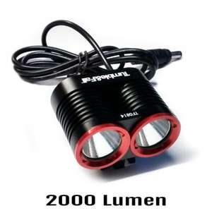 Tumble and Fall Pro 1600/2000 Lumen Front Bike Light £59.99 @ Rutland Cycling