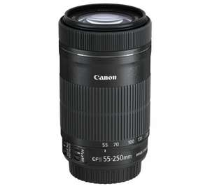 Canon EF-S 55-250mm f4-5.6 STM IS lens £138 @ Amazon (£113 After Cashback)