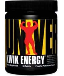 Universal Nutrition, Kwik Energy x 60 £8.20 plus £3.99 delivery @ supplimentcentre