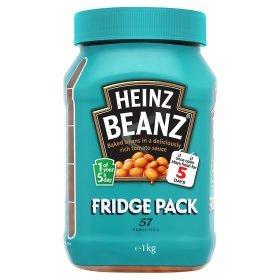 Heinz Baked Beans 1 Kg Fridge Pack only £1 @ Asda