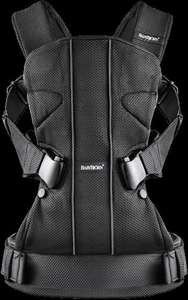 BABYBJORN Baby Carrier One and Bib (Black) - £81.54 @ Amazon