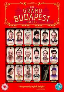 Grand Budapest Hotel - DVD £5 @ Amazon  (free delivery £10 spend/prime)