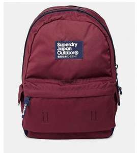 Superdry True Montana Backpack Maroon/Navy £19 @ ASOS
