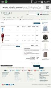 Viyella Price Glitch - Extra  20% off Sale Prices + FREE delivery & Cashback.