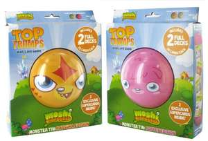 Moshi Monsters Top Trumps Collectors Tin only £1.96 (add-on item) @ Amazon
