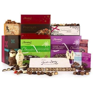 Christmas Spectacular Chocolate Hamper Thorntons £40