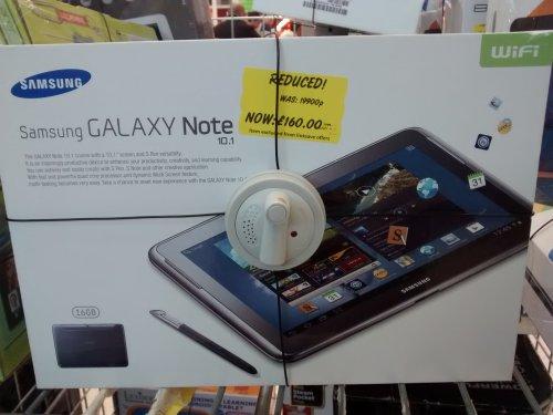 galaxy note 10.1 £160 @ Asda instore