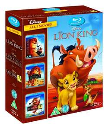 Lion King Trilogy Blu Ray £23.50 @ Amazon