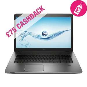 HP ProBook 470 G2 ,4th Generation Core I5 4210U, 17.3 screen,4GB Ram, 750 GB HDD, 2 Video Switchable Graphics only £459.99 , use £20 off code to bring the price down to £439.99.(Possible £364.99 HP £75 Cashback) @ co-operative Electrical