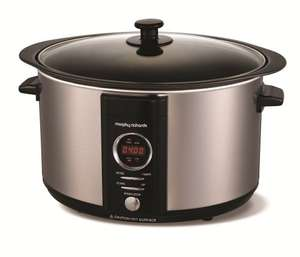 6.5L Brushed DIGITAL Sear and Stew Slow Cooker 461003 Morphy Richards (£35.09 free del)