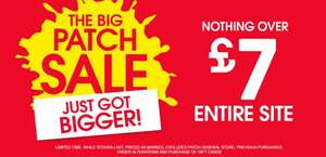 Nothing over £7 pumpkin patch plus free del