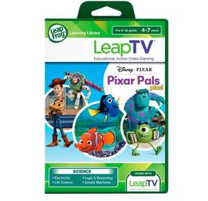 LeapTV games Pixar Pals and Ultimate Spider-Man - £10 instore @ Tesco