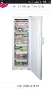 Indesit UIAA12.1 A+ Rated 1.75mt Tall Freezer in White at the Co op electrical for £249.00