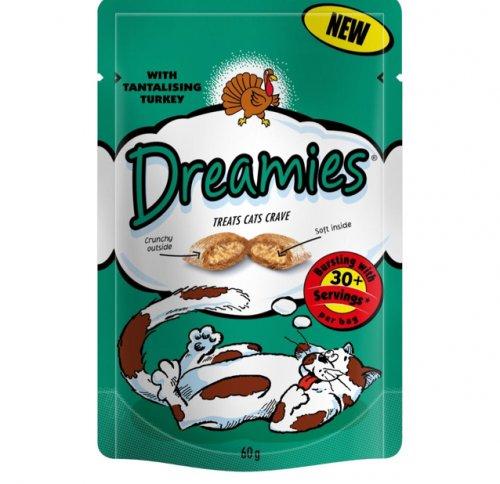 Dreamies cat treats 50p @ Asda
