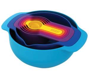 JOSEPH JOSEPH Nest 7 Plus Kitchenware Set £17.99 @ Currys Free Delivery